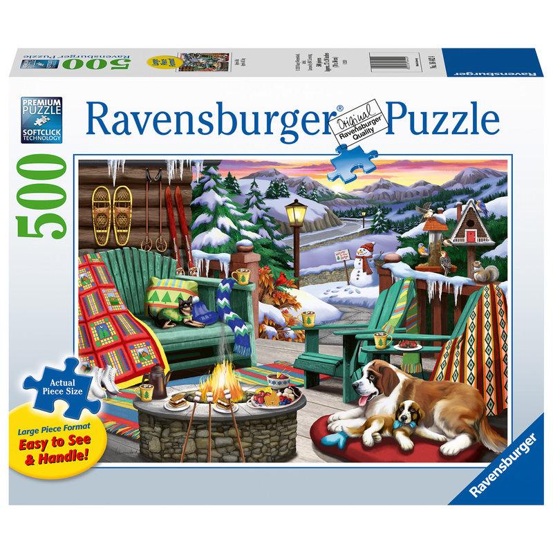Ravensburger Ravensburger Puzzle 500pc Large Format Apres All Day