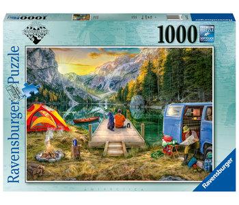 Ravensburger Puzzle 1000pc Calm Campsite