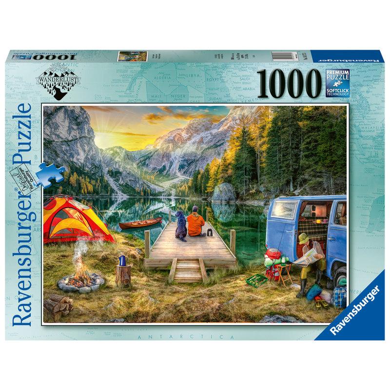 Ravensburger Ravensburger Puzzle 1000pc Calm Campsite