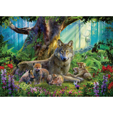 Ravensburger Ravensburger Puzzle 1000pc Wolves in the Forest