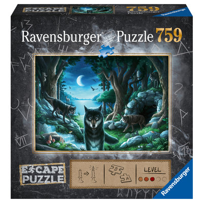 Ravensburger Ravensburger Escape Puzzle The Curse of the Wolves 759pc