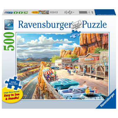 Ravensburger Ravensburger Puzzle 500pc Large Format Scenic Overlook