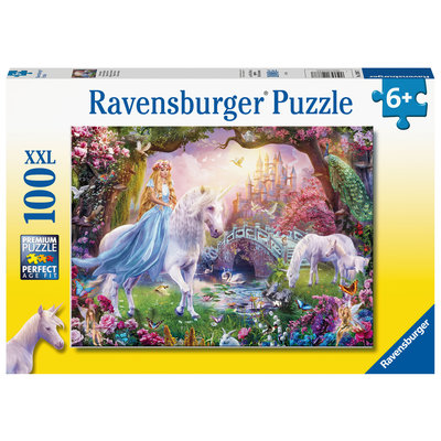 Ravensburger Ravensburger Puzzle 100pc Magical Unicorn