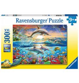 Ravensburger Ravensburger Puzzle 300pc Dolphin Paradise