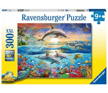 Ravensburger Puzzle 300pc Dolphin Paradise