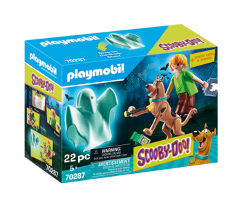 Playmobil Scooby Doo Scooby, Shaggy, Ghost