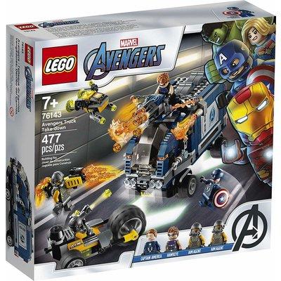 Lego Lego Super Heros Avengers Truck Take-Down