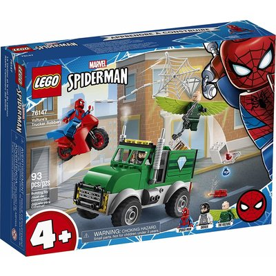 Lego Lego Super Heros Vulture's Truck Robbery