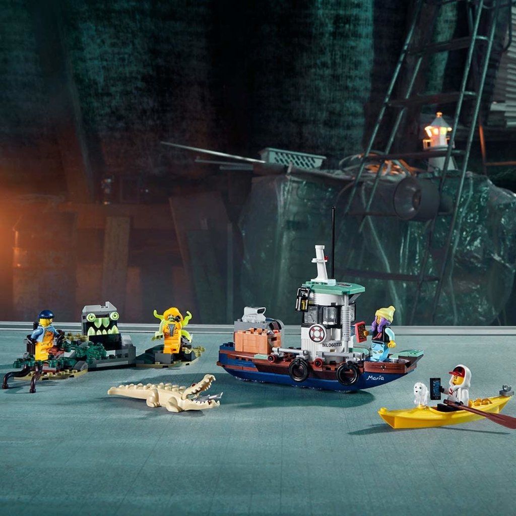 Lego Lego Hidden Side Wrecked Shrimp Boat