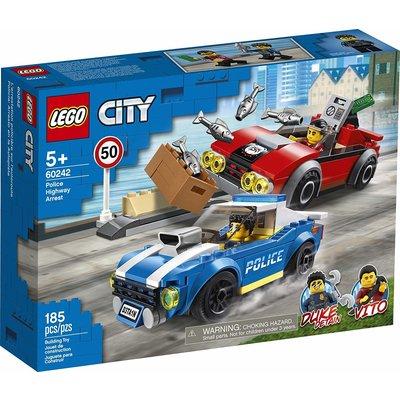 Lego Lego City Police Highway Arrest