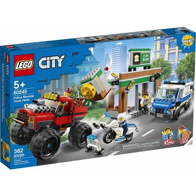 Lego Lego City Police Monster Truck Heist