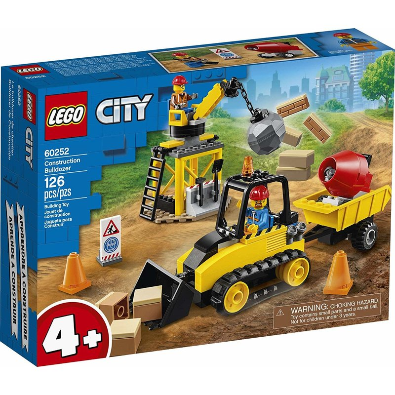 Lego Lego City Construction Bulldozer