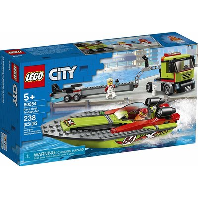 Lego Lego City Race Boat Transporter