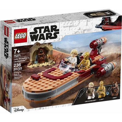 Lego Lego Star Wars Luke Skywalkers Landspeeder