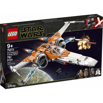 Lego Lego Star Wars Poe Damerons X-Wing Fighter