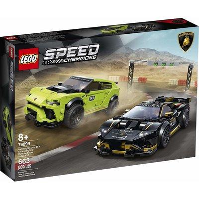 Lego Lego Speed Champions Lamborghini Ursus ST-X & Huracan