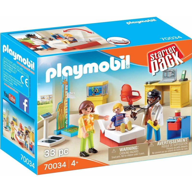 Playmobil Playmobil Starter Pack Pediatrician's Office
