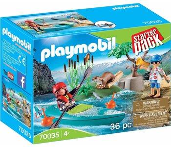 Playmobil Starter Pack Canoe Adventure
