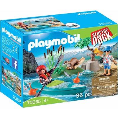Playmobil Playmobil Starter Pack Canoe Adventure