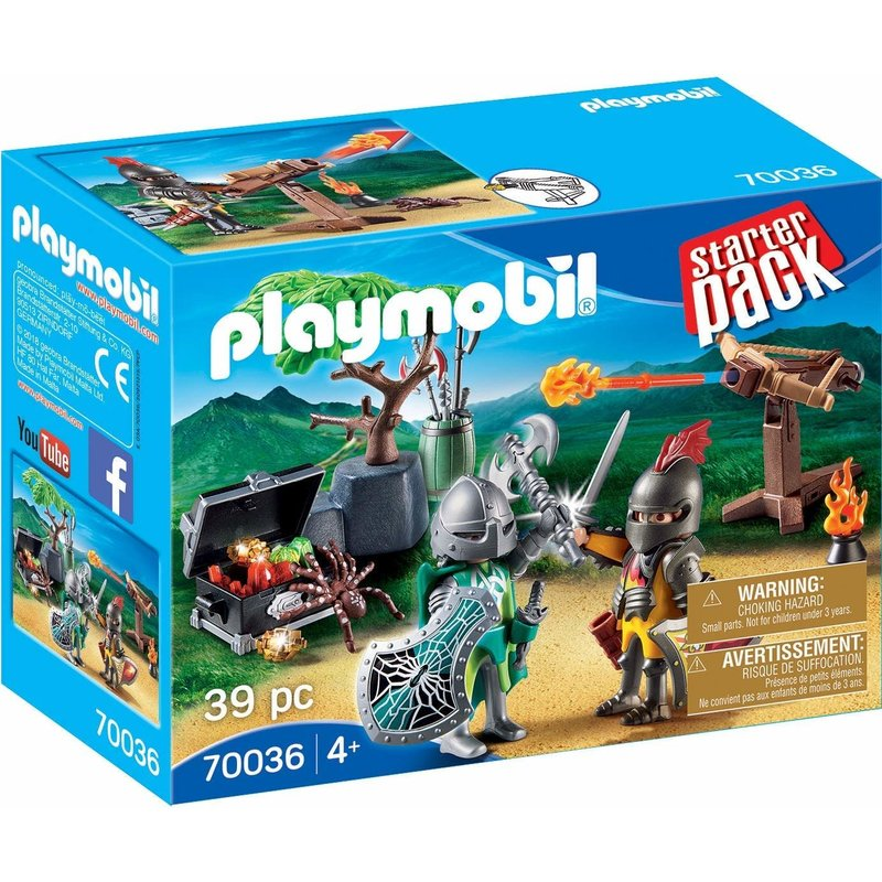 Playmobil Playmobil Starter Pack Knights Treasure Battle