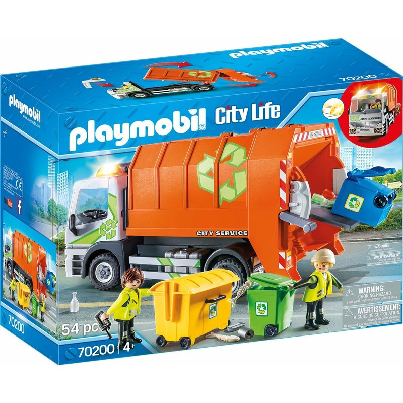 Playmobil Playmobil City Action Recycling Truck