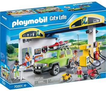 Playmobil City Action Gas Station
