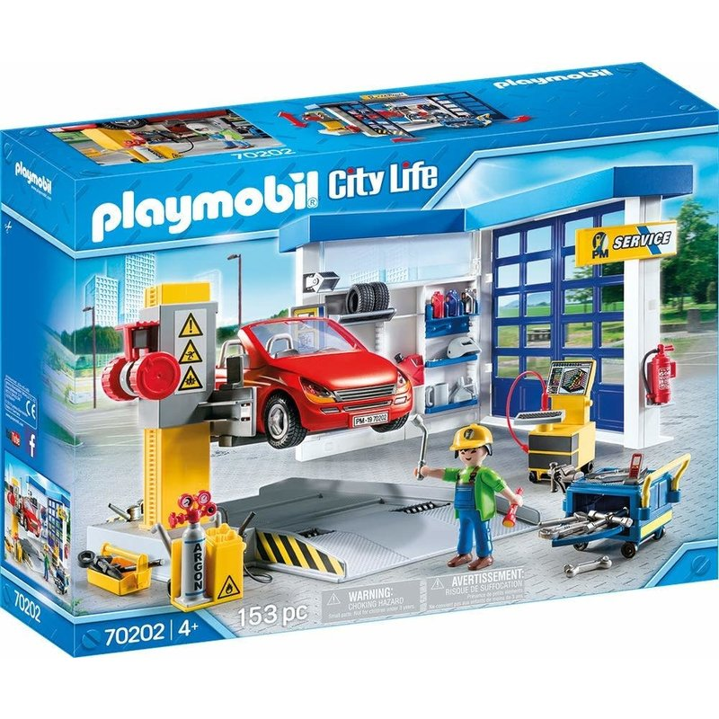 Playmobil Playmobil City Action Car Repair Garage