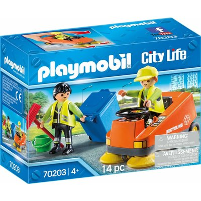 Playmobil Playmobil City Action Street Sweeper