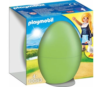 Playmobil Easter Egg Maiden With Geese