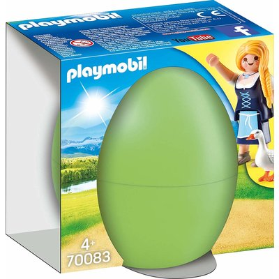 Playmobil Playmobil Easter Egg Maiden With Geese