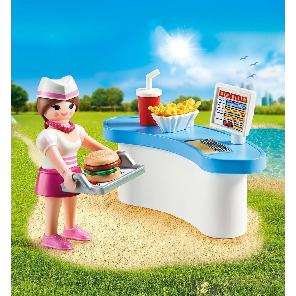 Playmobil Playmobil Easter Egg Diner Waitress with Counter