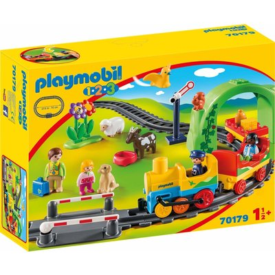 Playmobil Playmobil 123 My First Train Set