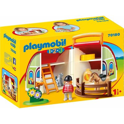 Playmobil Playmobil 123 My Take Along Farm