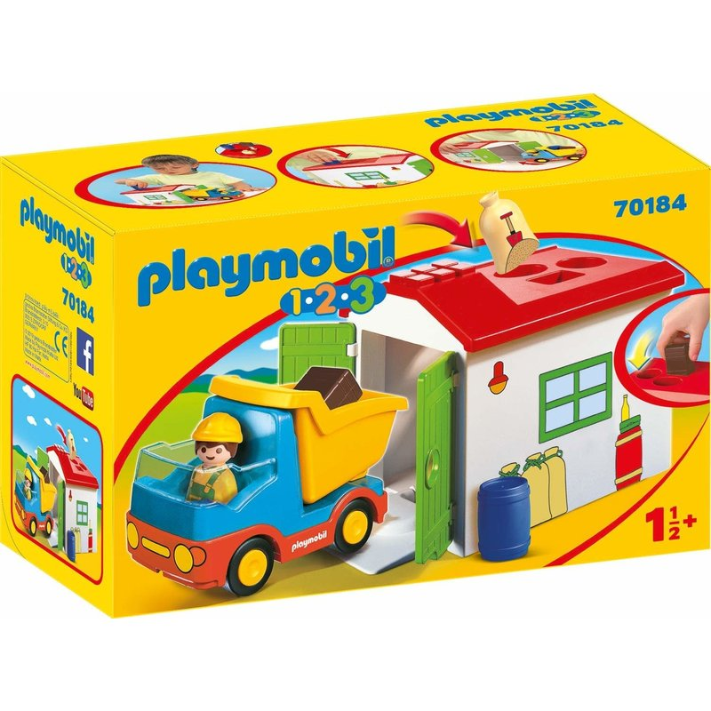 Playmobil Playmobil 123 Construction Truck with Garbage