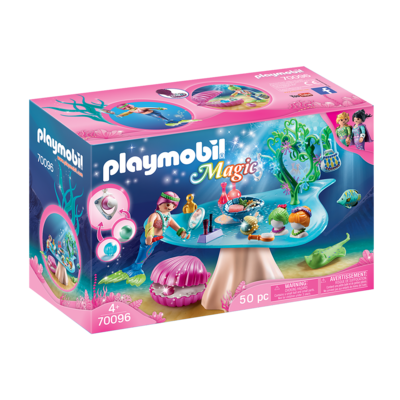 Playmobil Playmobil Magical Mermaid Beauty Salon with Jewel Case