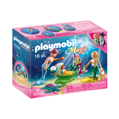 Playmobil Playmobil Magical Mermaid Family with Shell Stroller