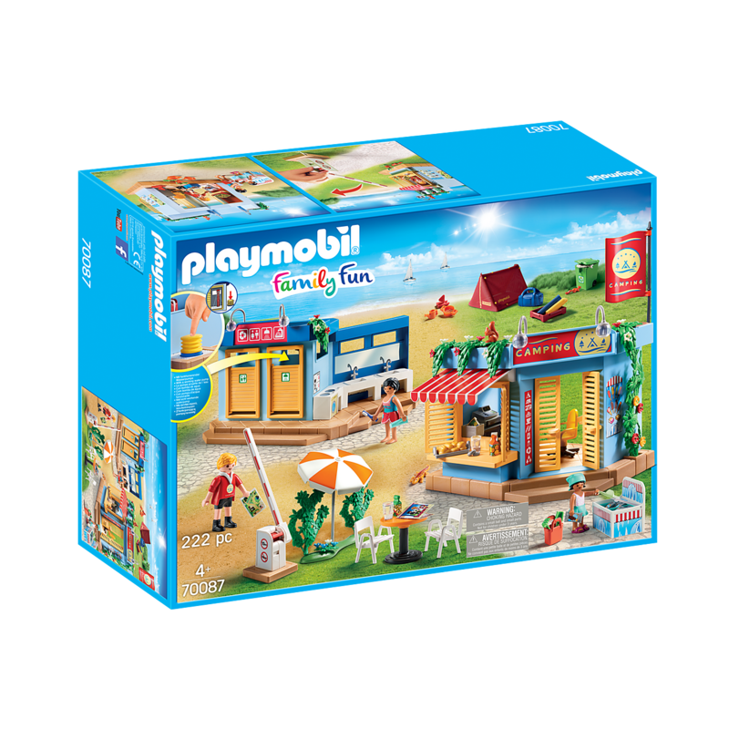 Playmobil Playmobil Camping Vacation Large Campground