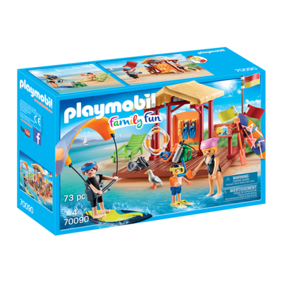 Playmobil Playmobil Camping Vacation Water Sports Lesson