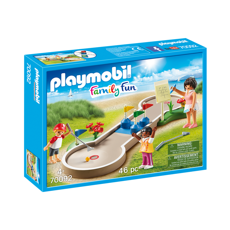 Playmobil Playmobil Camping Vacation Mini Golf