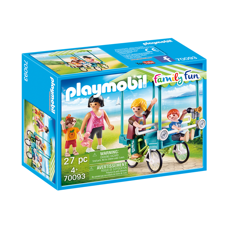 Playmobil Playmobil Camping Vacation Family Bicycle