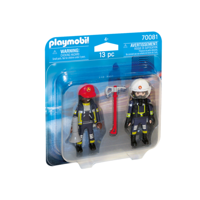 Playmobil Playmobil Duo Pack Rescue Firefighters