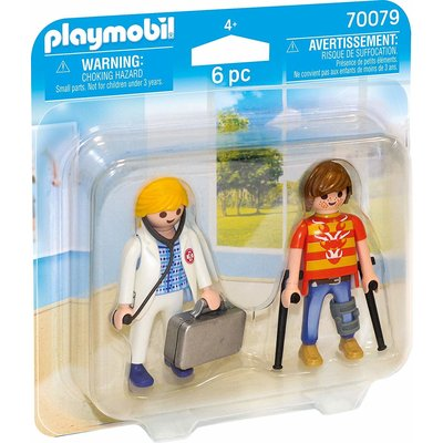 Playmobil Playmobil Duo Pack Doctor and Patient