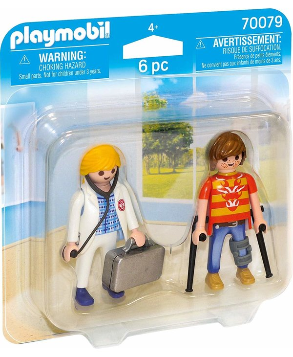 Playmobil Duo Pack Doctor and Patient