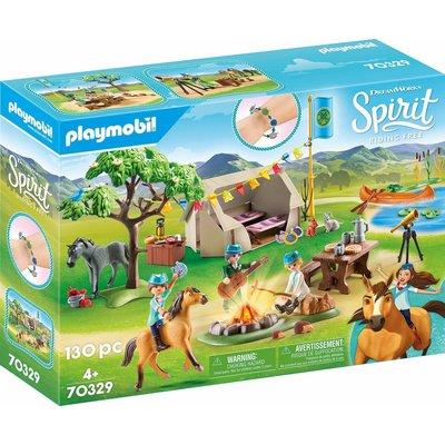 Playmobil Playmobil Spirit Frontier Fillies Camp