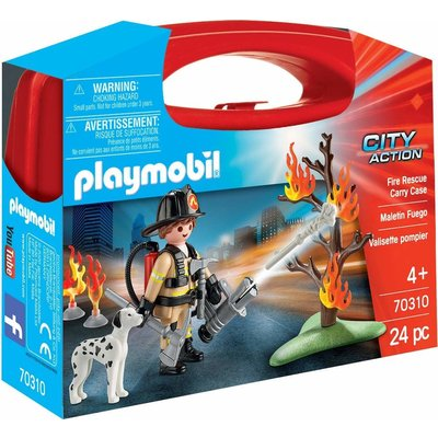 Playmobil Playmobil Carry Case: Small Fire