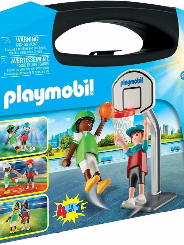 Playmobil Playmobil Carry Case: Large Multi Sport