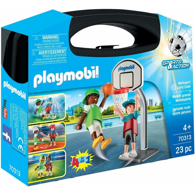 Playmobil Playmobil Carry Case: Large Multi Sport