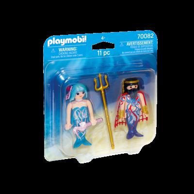 Playmobil Playmobil Duo Pack Sea King and Mermaid