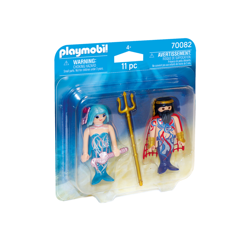Playmobil Playmobil Duo Pack Sea King and Mermaid