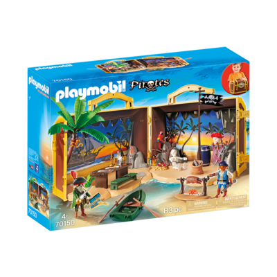 Playmobil Playmobil Pirate Take Along Pirate Island